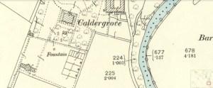 1897 Caldergrove map