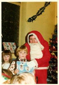 1975 Old Parish Church Hall Santa