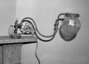 1982 Gas lamp, Caldergrove House