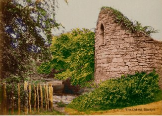 c1915 The Blantyre Mill, Ruined at Peth Brae