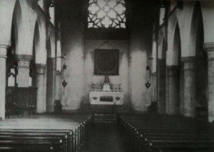 1905 Inside St Joseph's Chapel