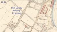 1859 Map showing Dandy Crossing
