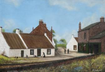 1924 Barnhill painted by Neil Gordon. Shown with permission from SLC museums