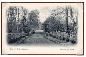 1910 Reliable postcards. Generals Bridge by C Ladds