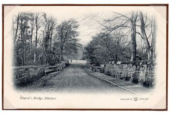 1910 Reliable postcards. Generals Bridge by C Ladds