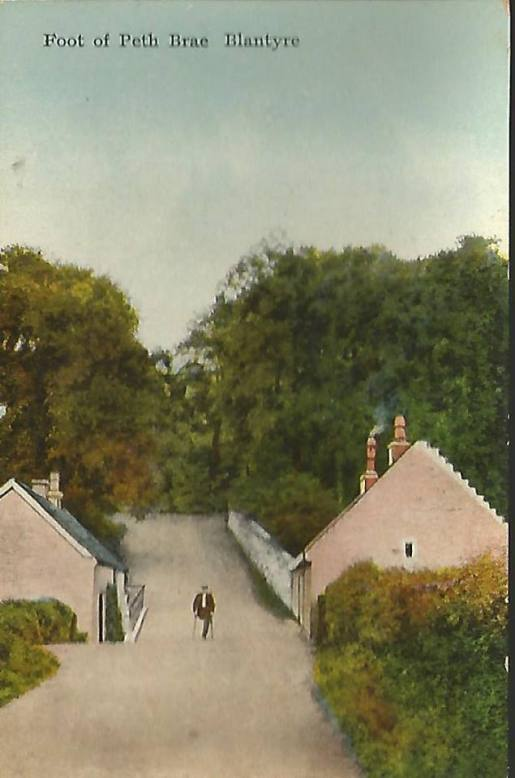 1910 Pathfoot at Barnhill.