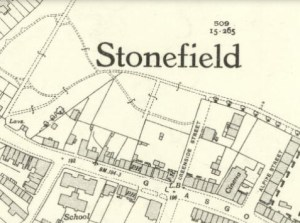 1936 Stonefield Map