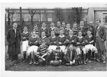 1940 Blantyre Accies Football team by Caroline McDougall