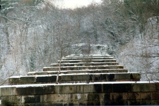 1984 Greenhall Railway Viaduct photo by Gordon Cook