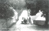 1920 Horse and Cart at Barnhill, Peth Brae