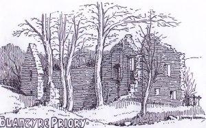 blantyre-priory-sketch