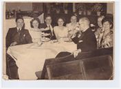 c1950 Frances and Alex pictured in middle at Miners Welfare