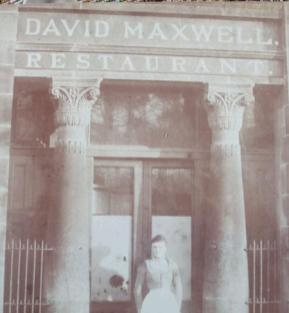 1880s or 90s David Maxwell Restaurant (PV)