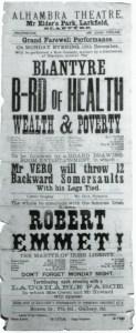 1886 Alhambra Theatre Programme, Larkfield