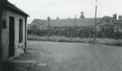 1930s Auchinraith Row on left