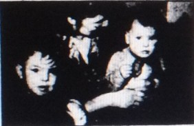 1958 Annie with William & Elaine Brown.