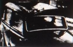 1958 Mr Nimmo's damaged car (from dixons washhouse demolition)