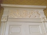 2014 Gold Leaf above doors at Crossbasket Castle