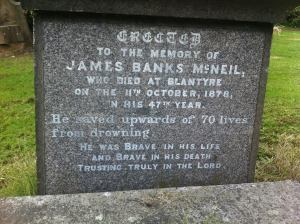 James Banks McNeil buried at Southern Necropolis