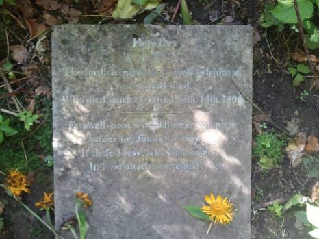 "1804 ""Tiny"" laid to rest shared by John Duffy"