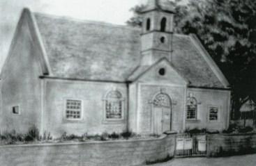1863 Old Church at Kirkon Cross, in the Kirkyard (PV)