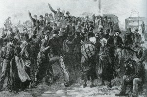 1877 Calling for Volunteers to go down the burning pit