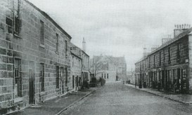 Stonefield Road Blantyre 1906