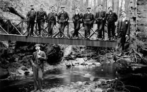 1908 Ten Men at The Hermitage