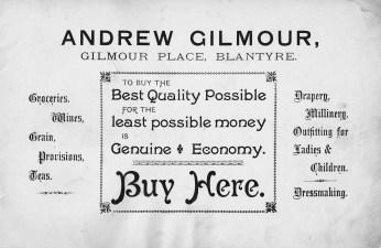 Andrew Gilmour Advert 2