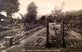 1929 The Rose Garden at David Livingstone Memorial Centre. (PV)