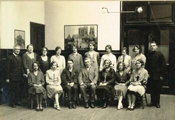 1930 High Blantyre Staff - January. Shared by Robert Stewart