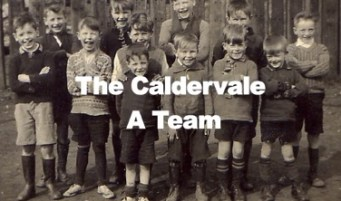 1940s The Caldervale A Team!