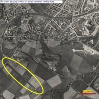 1940s Railway Line near Westcraigs is now