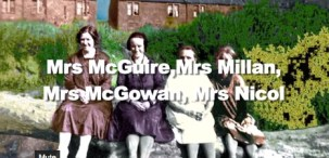 1950s Women at Caldervale named