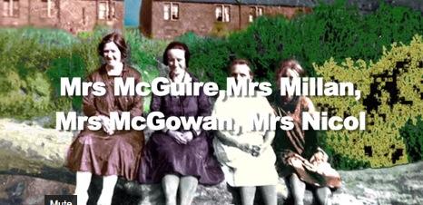 1950s Women at Caldervale named