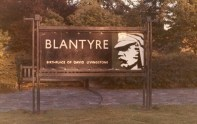 1968 Sign at High Blantyre, by R Stewart