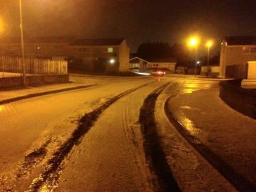 2015 Snow at Blantyre 13th November