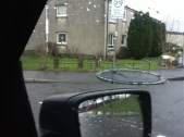 2012 January storm Destruction at Glenfruin Rd (PV)