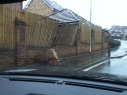 2012 January Storm Damage At Westcraigs (PV)
