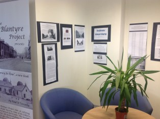 2014 Blantyre Library, Blantyre Project Display (PV)