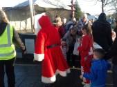 2014 Blantyre Festive Event Santa arrives
