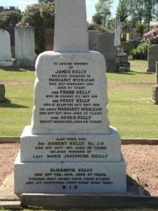James Kelly Gravestone