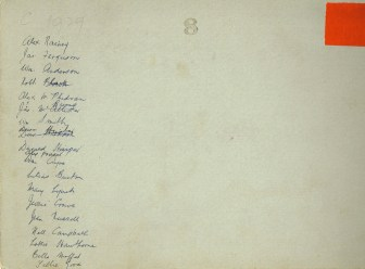 Names for 1929 HIgh Blantyre Primary Photo
