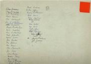 Names of the 1929 Schoolchildren