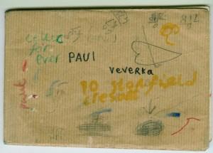 1977 Paul Veverka School Jotter