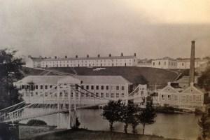 1880 Blantyre Works. Bothwell looking to Blantyre
