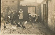 1927 Annie Main Marshall at Udston. Shared by J Cochrane