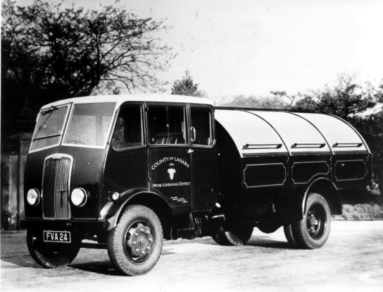 1948 Blantyre Scavenging Truck. Photo shared by G Cook