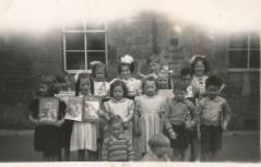 1950 Auchentibber School shared by Jim Cochrane