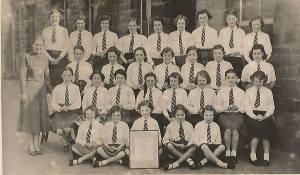 1957 High Blantyre School Choir, Hunthill , shard by J Cochrane
